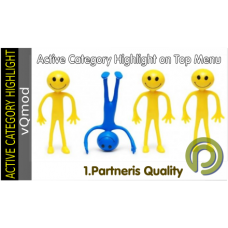 Active Category Highlight in Categories Menu - vQmod extension for Opencart