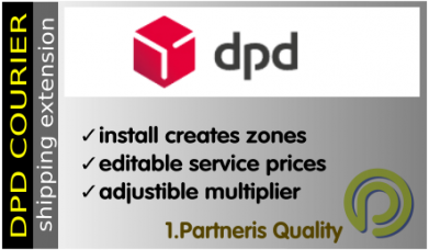 DPD Courier- Opencart Shipping Extension for Opencart 1.5x and 2.x