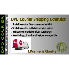 DPD Courier- Opencart Shipping Extension for Opencart 3.x