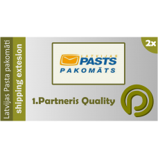 Latvijas Pasta pakomāti - Opencart 1.5.x and 2.x Shipping Extension