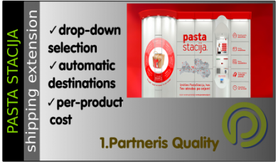 Pasta Stacija - Opencart 3.x Shipping Extension