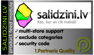Salīdzini.lv Data Feed For Opencart 3.x